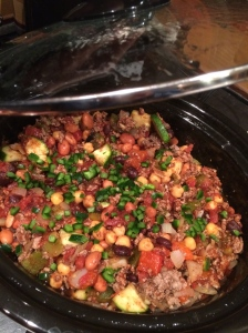 Roasted Pepper and Bean Chili